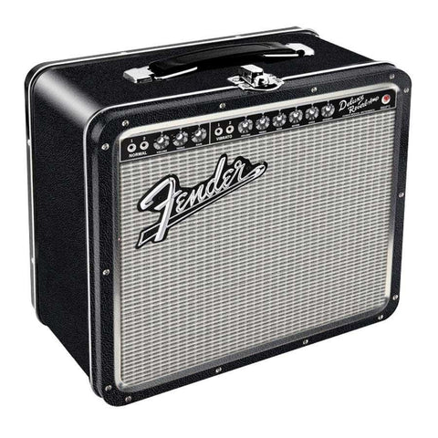 Fender Deluxe Reverb Amp Retro Lunch Box - The Hippie House