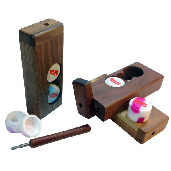 Futo Dab Box With Ti Dabber & Containers - The Hippie House