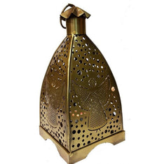 Gold Finish Angel Lantern - The Hippie House