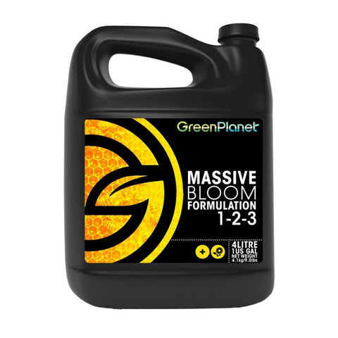 Green Planet Massive Bloom Formulation - 5L - The Hippie House