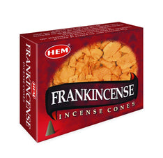 HEM - Frankincense - 120 Incense Cones - The Hippie House
