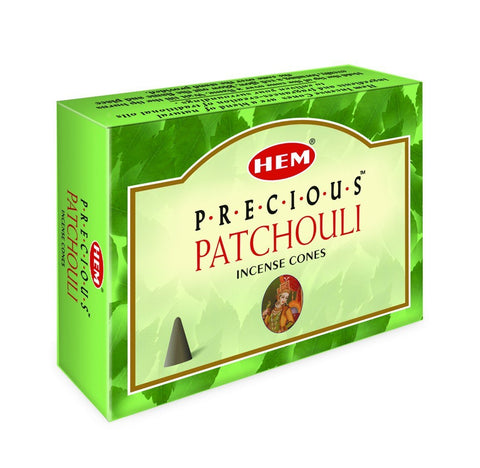 HEM - Precious Patchouli - 120 Incense Cones - The Hippie House
