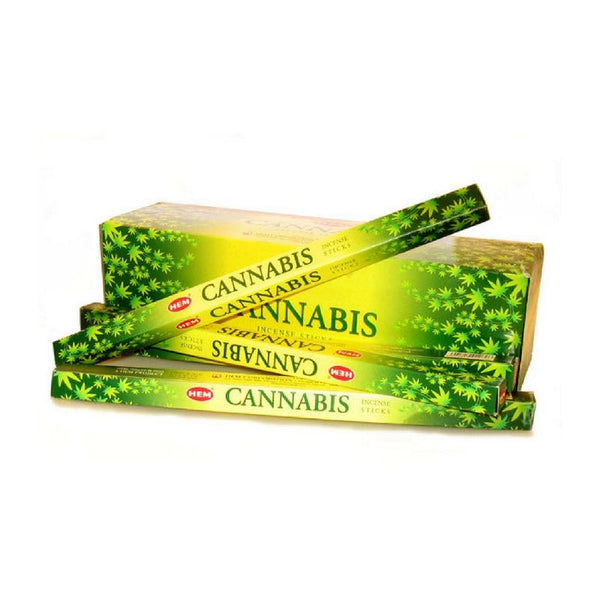HEM Cannabis Incense Sticks - 200 Sticks - The Hippie House