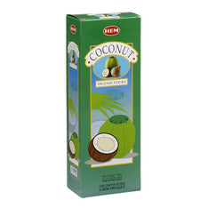 HEM Coconut Incense Sticks - 200 Sticks - The Hippie House