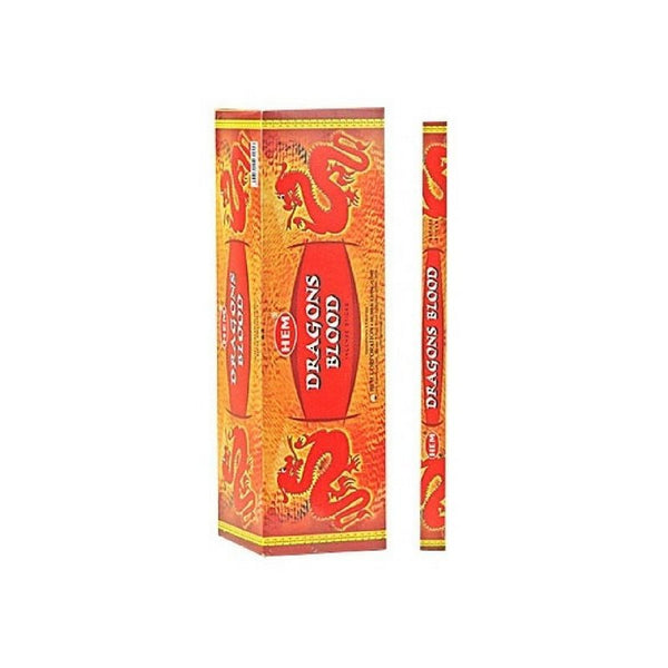 HEM Dragons Blood Incense Sticks - 200 Sticks - The Hippie House