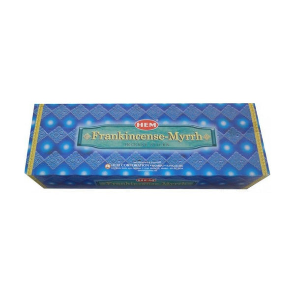 HEM Frankincense Myrrh Incense Sticks - 200 Sticks - The Hippie House