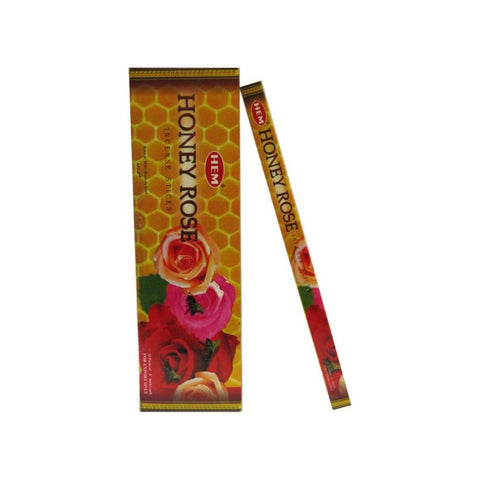 HEM Honey Rose Incense Sticks - 200 Sticks - The Hippie House