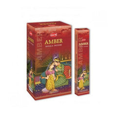HEM Masala Amber Incense Sticks - 180 Grams - The Hippie House