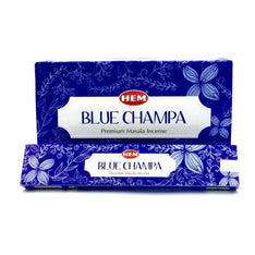 HEM Masala Blue Champa Incense Sticks - 180 Grams - The Hippie House