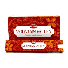 HEM Masala Mountain Valley Incense Sticks - 180 Grams - The Hippie House