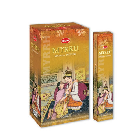 HEM Masala Myrrh Incense Sticks - 180 Grams - The Hippie House