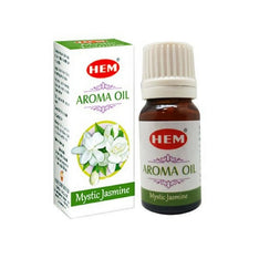 HEM Mystic Jasmine Aroma Fragrance Oil - 10ml Bottle - The Hippie House