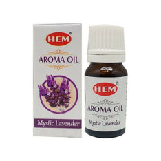 HEM Mystic Lavender Aroma Fragrance Oil - 10ml Bottle - The Hippie House