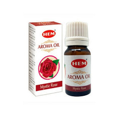 HEM Mystic Rose Aroma Fragrance Oil - 10ml Bottle - The Hippie House
