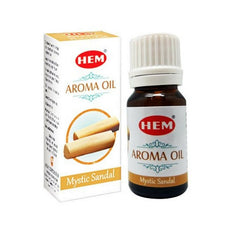 HEM Mystic Sandal Aroma Fragrance Oil - 10ml Bottle - The Hippie House