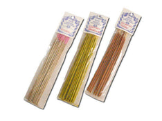 Handmade Saffron Sandal Incense Sticks - 100 Grams - The Hippie House