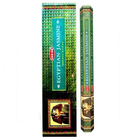 Egyptian Jasmine Garden Incense Sticks - HEM - Box Of 6 - The Hippie House