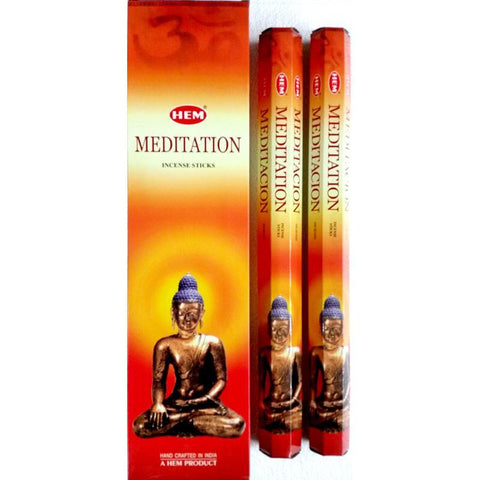 Meditation Garden Incense Sticks - HEM - Box Of 6 - The Hippie House