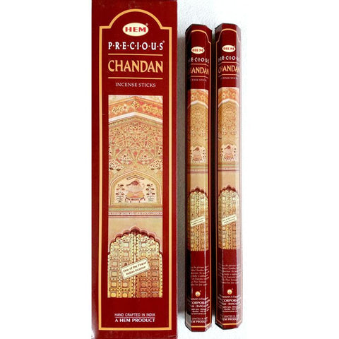 Precious Chandan Garden Incense Sticks - HEM - Box Of 6 - The Hippie House