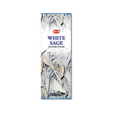 HEM White Sage Incense Sticks - 200 Sticks - The Hippie House
