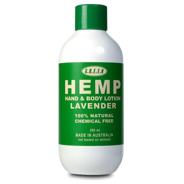 Hemp Body Lotion - Lavender - The Hippie House