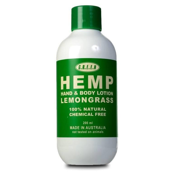 Hemp Body Lotion - Lemongrass - The Hippie House