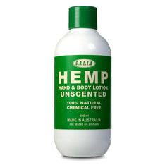 Hemp Body Lotion - Unscented - The Hippie House