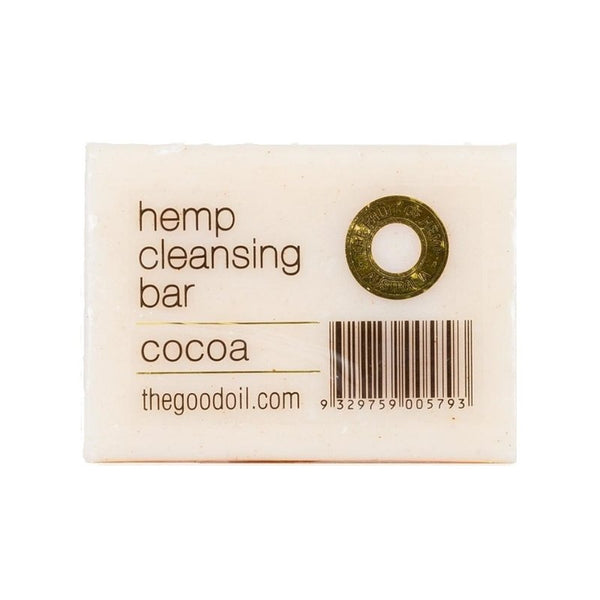 Hemp Cleansing Soap Bar - Cocoa - The Hippie House