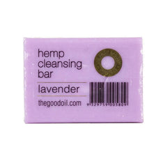 Hemp Cleansing Soap Bar - Lavender - The Hippie House