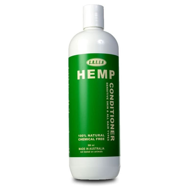 Hemp Hair Conditioner - 500ml - The Hippie House