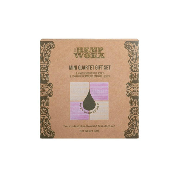 Hempworx Soap Gift Box - 4 Pack - The Hippie House