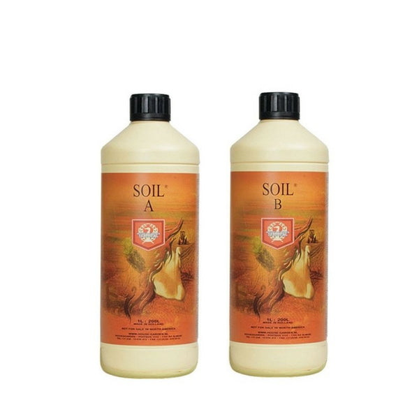 House & Garden Soil A&B Set - 1L - The Hippie House