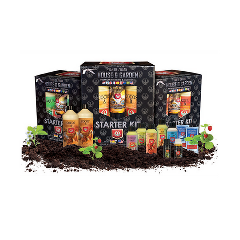 House & Garden Soil Starter Kit - The Hippie House