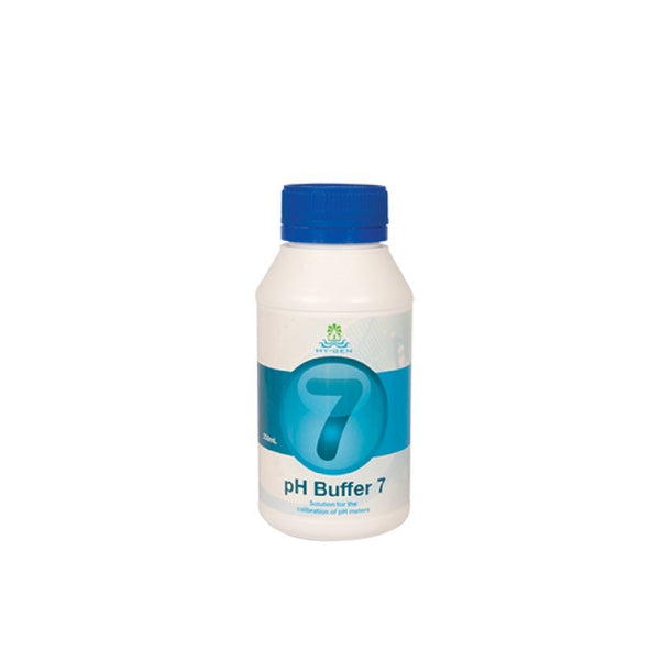 Hy-Gen PH Buffer 7 - 250ml - The Hippie House
