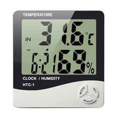 Hydroponic Grow Meter - Temperature + Humidity - The Hippie House