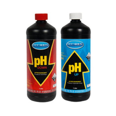 Hygen Set - pH Up + pH Down - 1L - The Hippie House