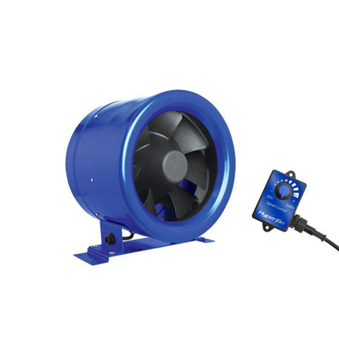 Hyper Fan 150mm + Speed Controller - The Hippie House