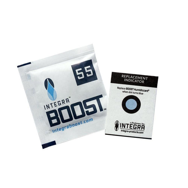 Integra™ Boost™ Humidiccant Packets - 62% + 55% : 8g + 67g - The Hippie House