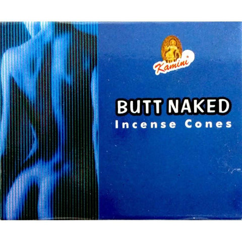 Kamini Incense Cones - Butt Naked - The Hippie House
