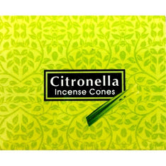Kamini Incense Cones - Citronella - The Hippie House