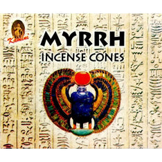 Kamini Incense Cones - Myrrh - The Hippie House