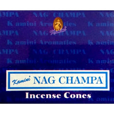Kamini Incense Cones - Nag Champ - The Hippie House