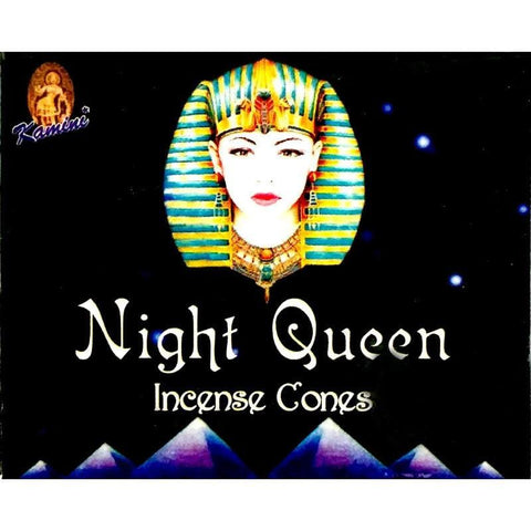 Kamini Incense Cones - Night Queen - The Hippie House