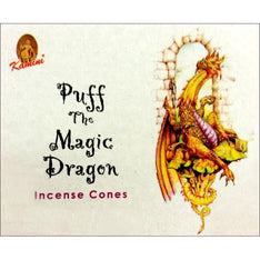 Kamini Incense Cones - Puff The Magic Dragon - The Hippie House