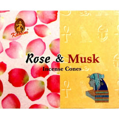 Kamini Incense Cones - Rose Musk - The Hippie House