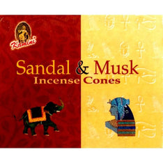 Kamini Incense Cones - Sandal Musk - The Hippie House