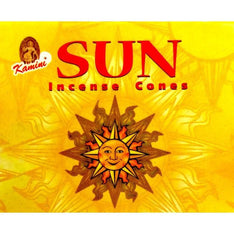 Kamini Incense Cones - Sun - The Hippie House