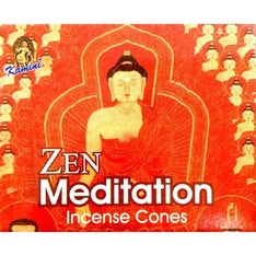 Kamini Incense Cones - Zen Meditation - The Hippie House