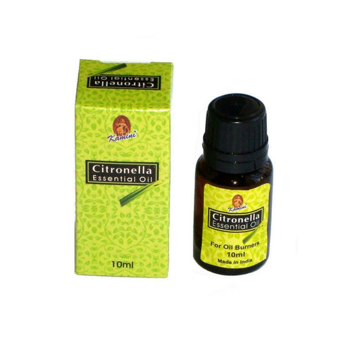 Kamini Citronella Aroma Fragrance Oil - 10ml - The Hippie House