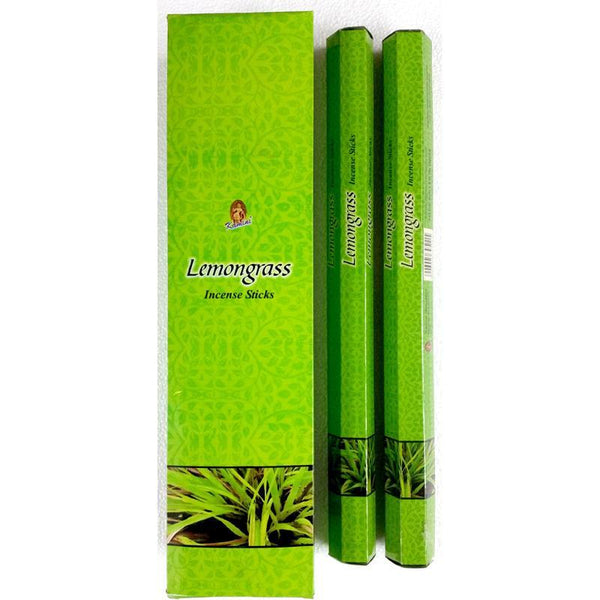 Lemongrass Garden Incense Sticks - Kamini - Box Of 6 - The Hippie House